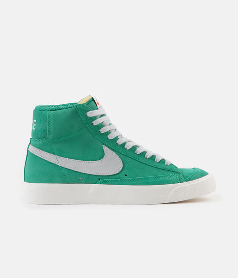 Nike Blazer Mid '77 Suede Shoes - Neptune Green / Pure Platinum - Sail