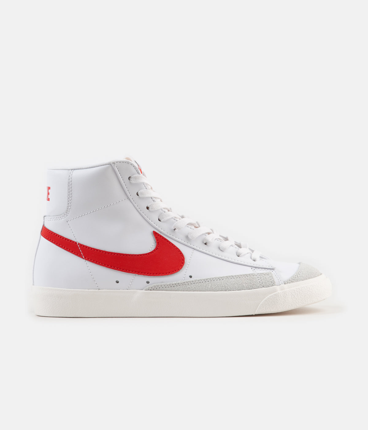 official photos c7022 f0f02 ... Nike Blazer Mid  77 Vintage Shoes - Habanero Red   Sail - White ...