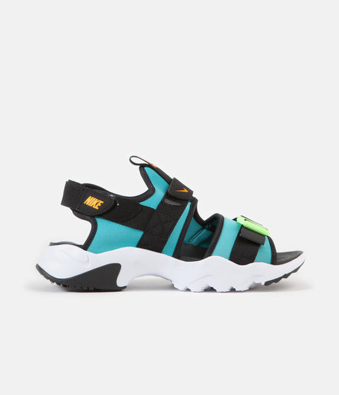Nike Canyon Shoes - Oracle Aqua / Laser Orange - Black