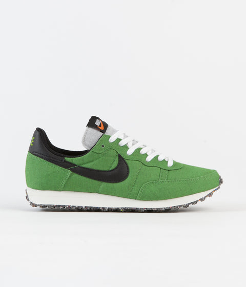 Nike Challenger OG Shoes - Mean Green / Black - Sail - White