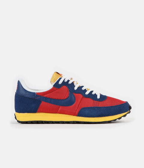 Nike Challenger OG Shoes - University Red / Coastal Blue - Solar Flare
