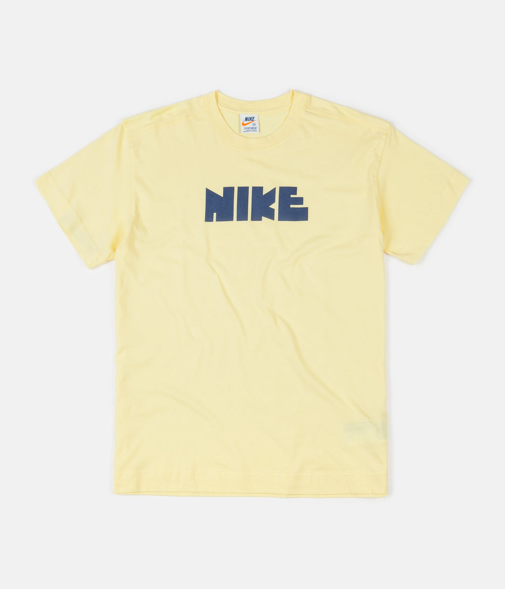 Nike Classic 3 T-Shirt - Bicycle Yellow / Midnight Navy
