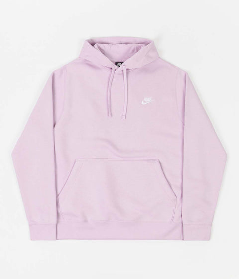 Nike Club Fleece Hoodie - Iced Lilac / Iced Lilac / White