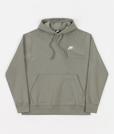 Nike Club Fleece Hoodie - Light Army / Light Army / White
