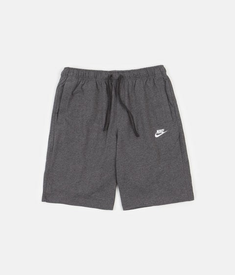 Nike Club Shorts - Charcoal Heather / White