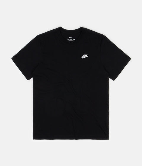 Nike Club T-Shirt - Black / White