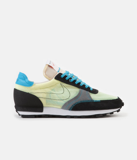Nike Daybreak Type Shoes - Barely Volt / Black - Baltic Blue - Smoke Grey