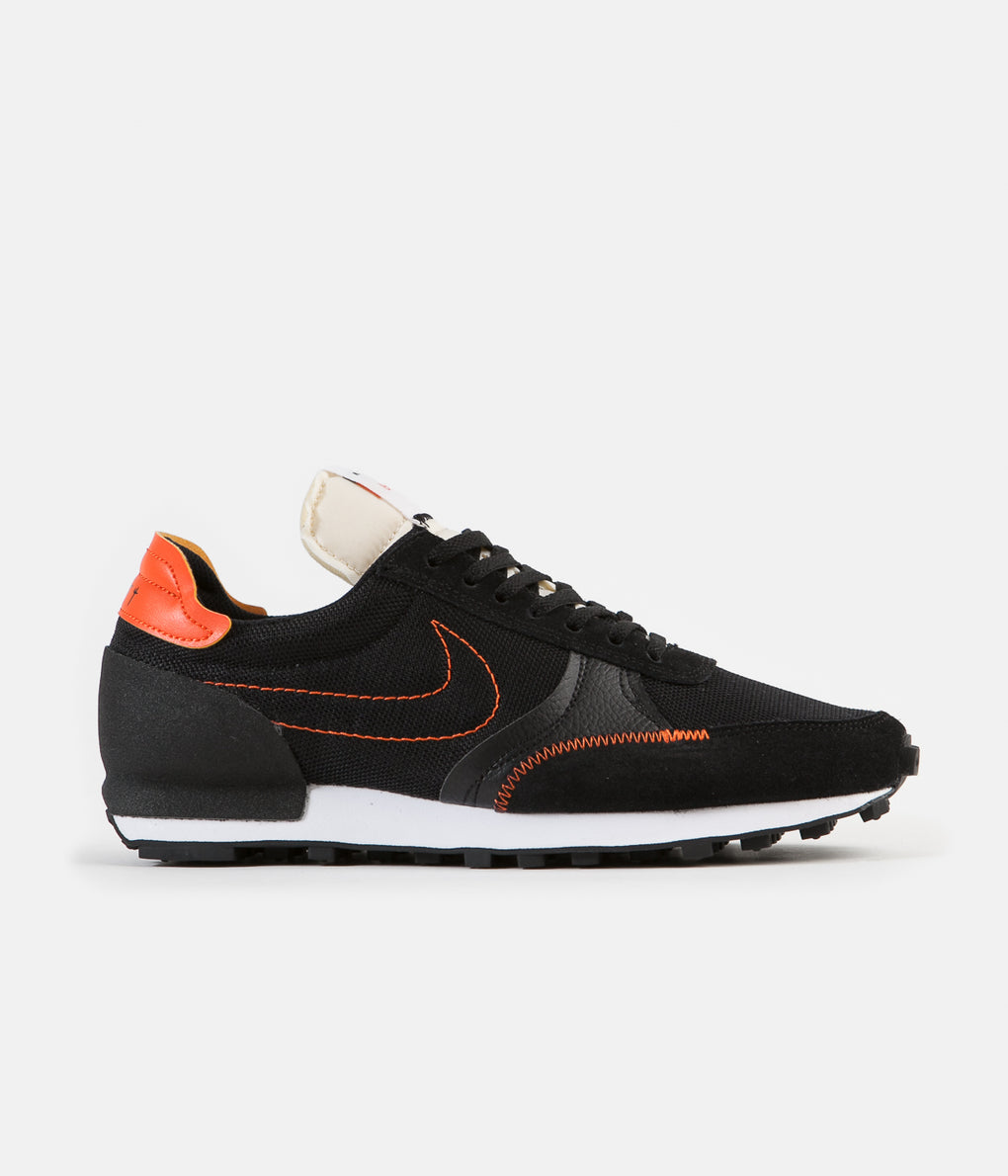 Nike Daybreak Type Shoes - Black / Team Orange - Sail - White