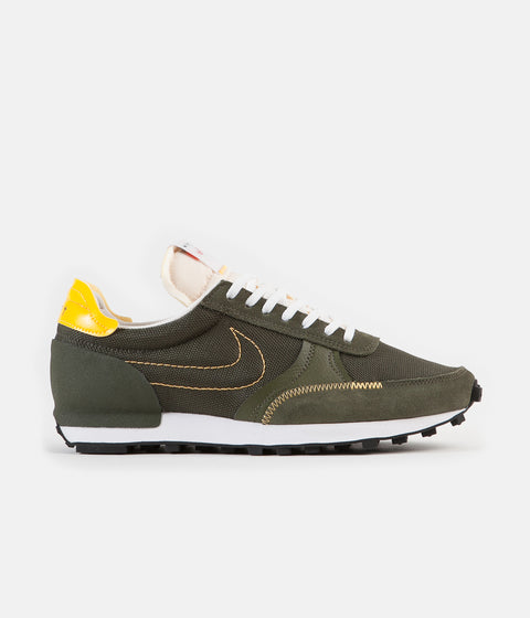 Nike Daybreak Type Shoes - Cargo Khaki / University Gold - Sail - White