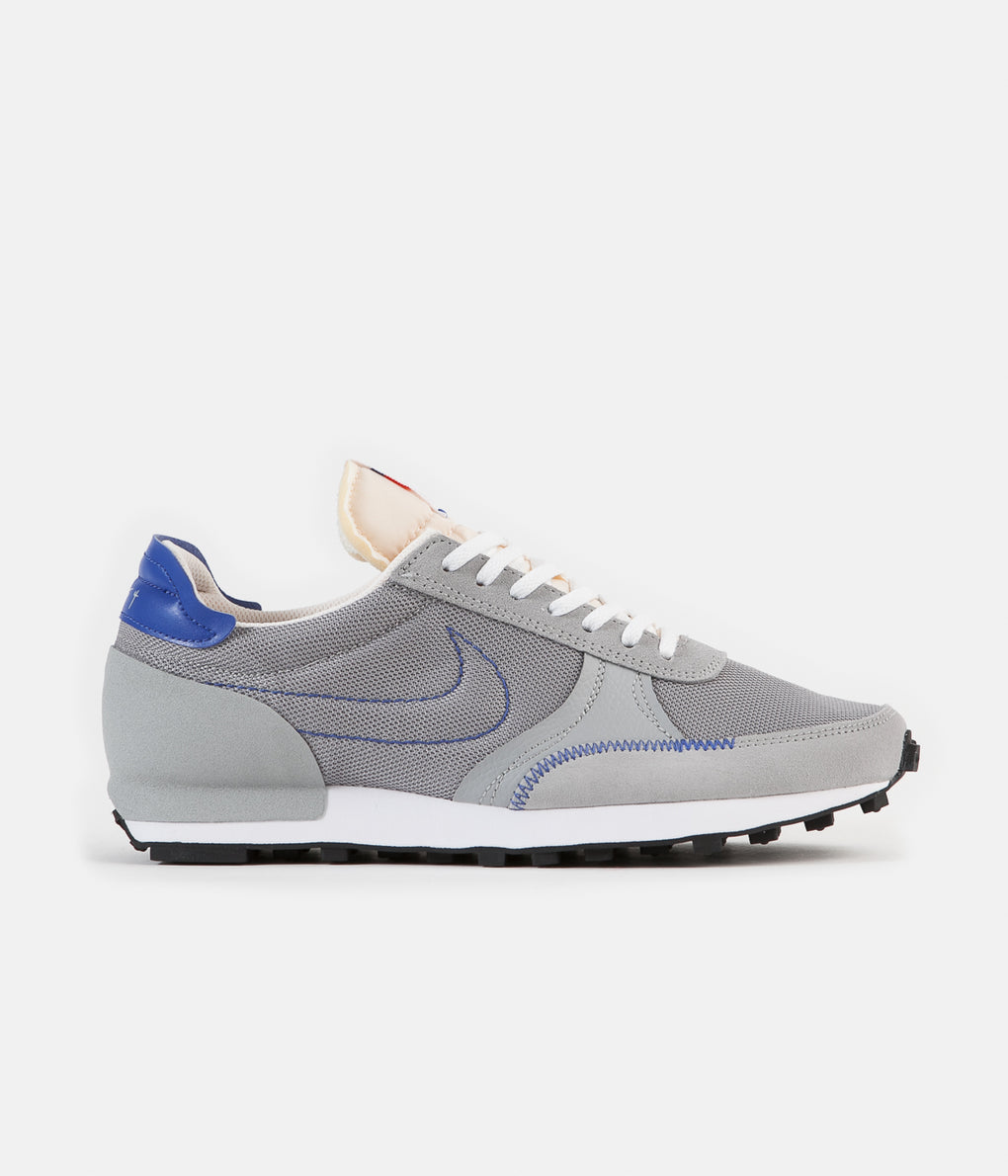Nike Daybreak Type Shoes - Light Smoke Grey / Game Royal - Sail - White