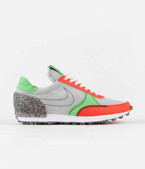 Nike Daybreak Type Shoes - Photon Dust / Photon Dust - Team Orange