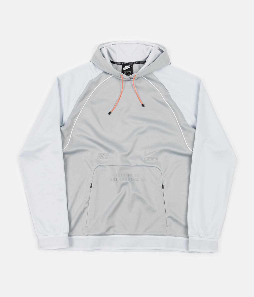 Nike DNA Hoodie - Light Smoke Grey / Pure Platinum