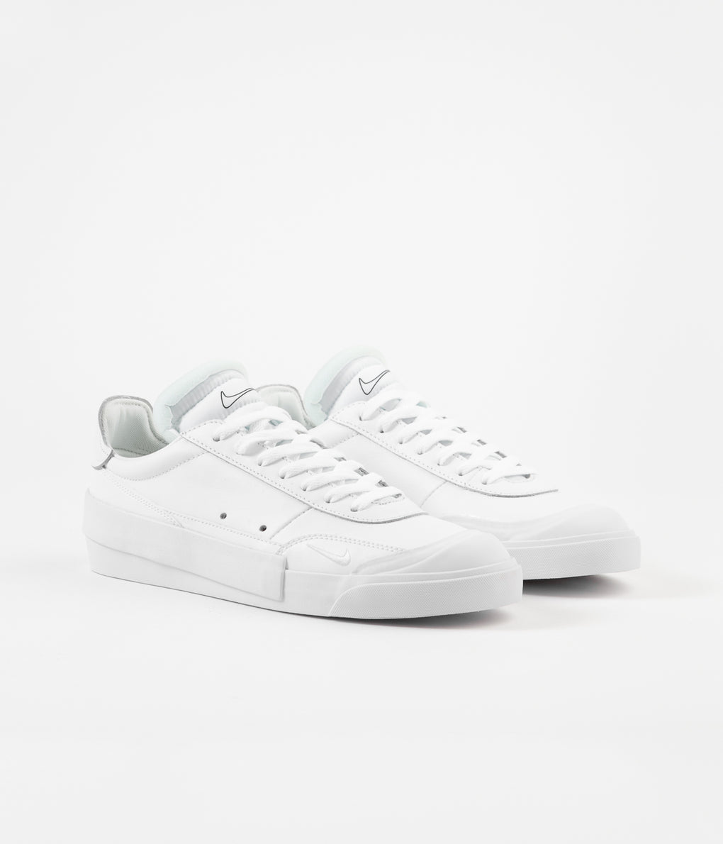 Nike Drop Type Premium Shoes - White / Black
