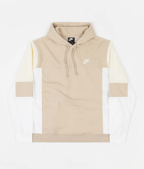 Nike French Terry Hoodie - Grain / White / Coconut Milk / White