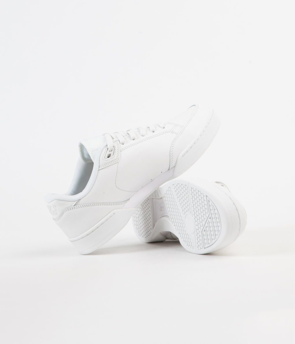 Nike Grandstand II Premium Shoes - Summit White / Summit White - White