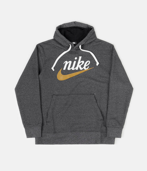 Nike Graphic Pullover Hoodie - Black / Heather