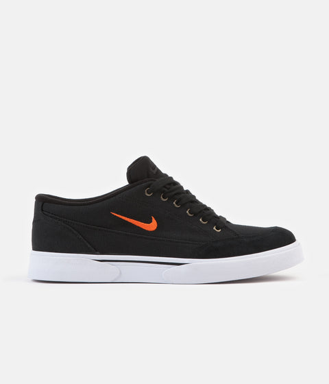 Nike GTS '16 TXT Shoes - Black / Team Orange - White