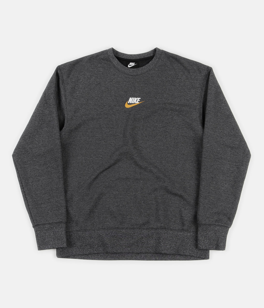 Nike Heritage Crewneck Sweatshirt - Black / Heather