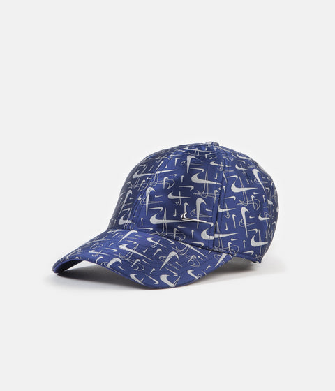 Nike Heritage86 Swoosh Cap - Deep Royal Blue / White