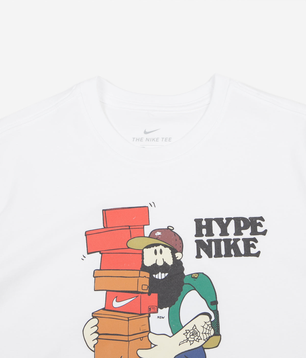 a3722c9c8 Nike Hype T-Shirt - White | Always in Colour