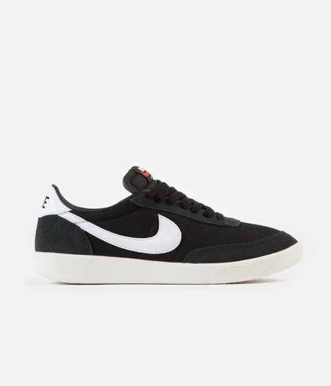 Nike Killshot OG Shoes - Black / White - Sail - Team Orange