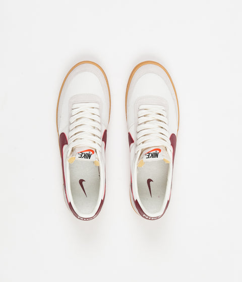 Nike Killshot Shoes - Sail / Team Red - Gum Yellow
