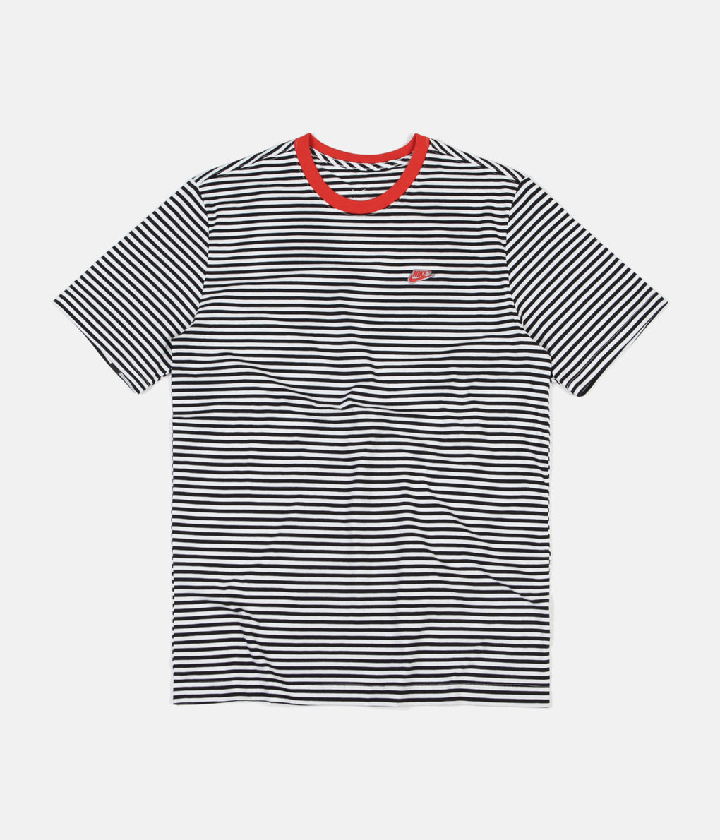 Nike Mini Futura 4 T-Shirt - Black / Habanero Red / Black