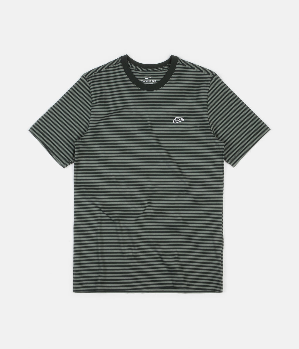Nike Mini Futura 4 T-Shirt - Outdoor Green / Outdoor Green / Black
