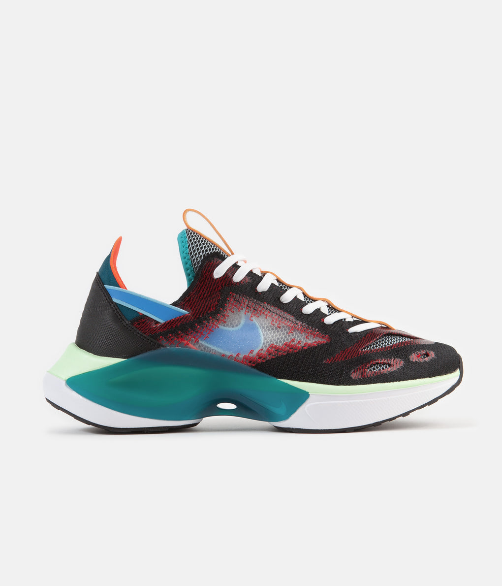Nike N110 DIMSIX Signal FK Shoes - Black / Blue Hero - Blue Gaze - University Red