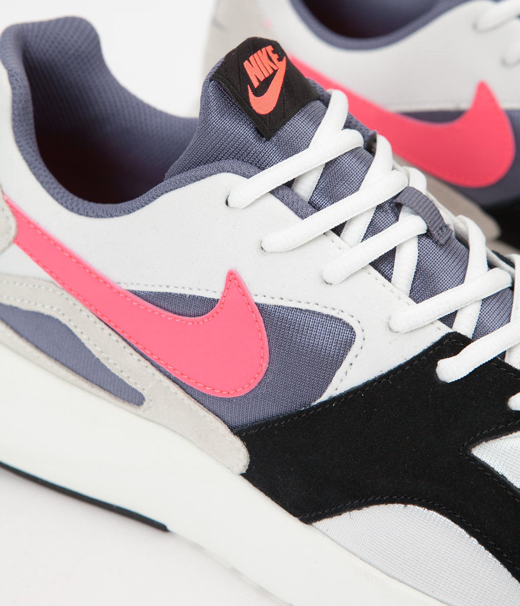 Nike Pantheos Shoes - Summit White / Hot Punch - Black