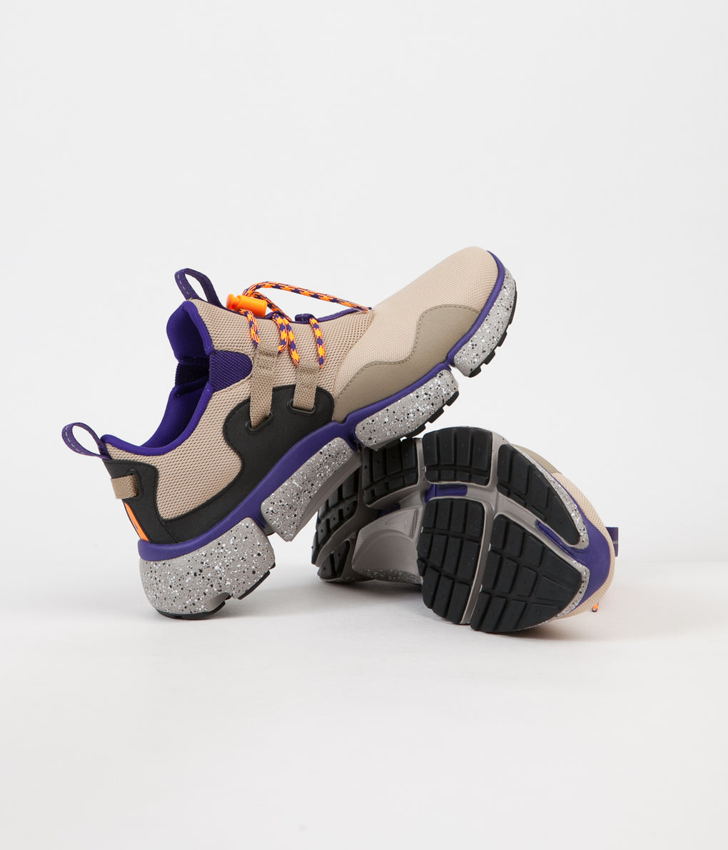 Nike Pocketknife DM Shoes - Linen / Khaki / Court Purple /  Black