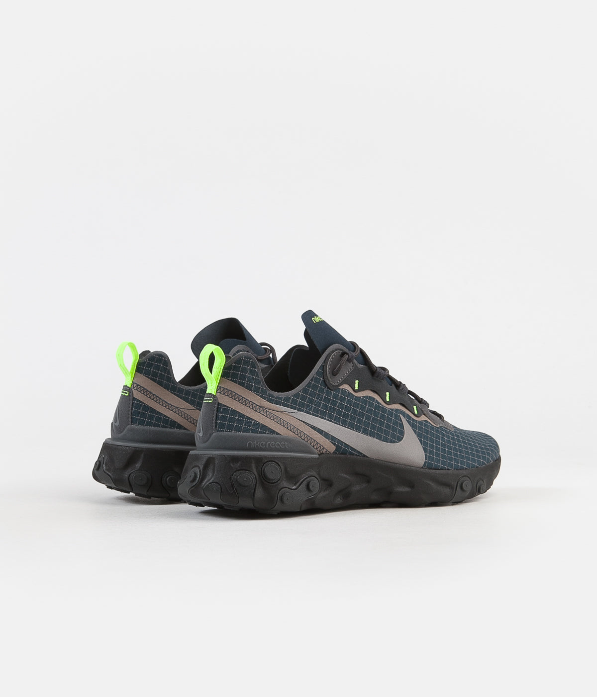 pick up special sales top fashion Nike React Element 55 Shoes - Armory Navy / Metallic Dark ...