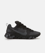 Image for Nike React Element 55 Shoes - Black / Dark Grey