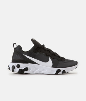 check out d2084 0d5e4 Nike React Element 55 Shoes - Medium Olive   Cool Grey - Black ...