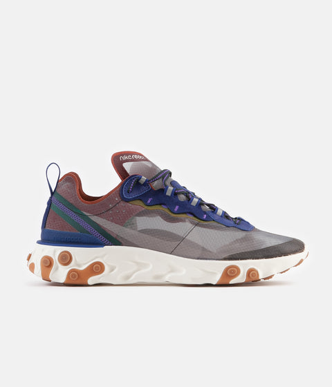 a2efb4a31926 Nike React Element 87 Shoes - Dusty Peach   Atmosphere Grey