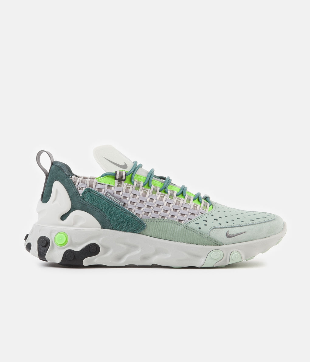 Nike React Sertu Shoes - Faded Spruce / Gunsmoke - Bicoastal