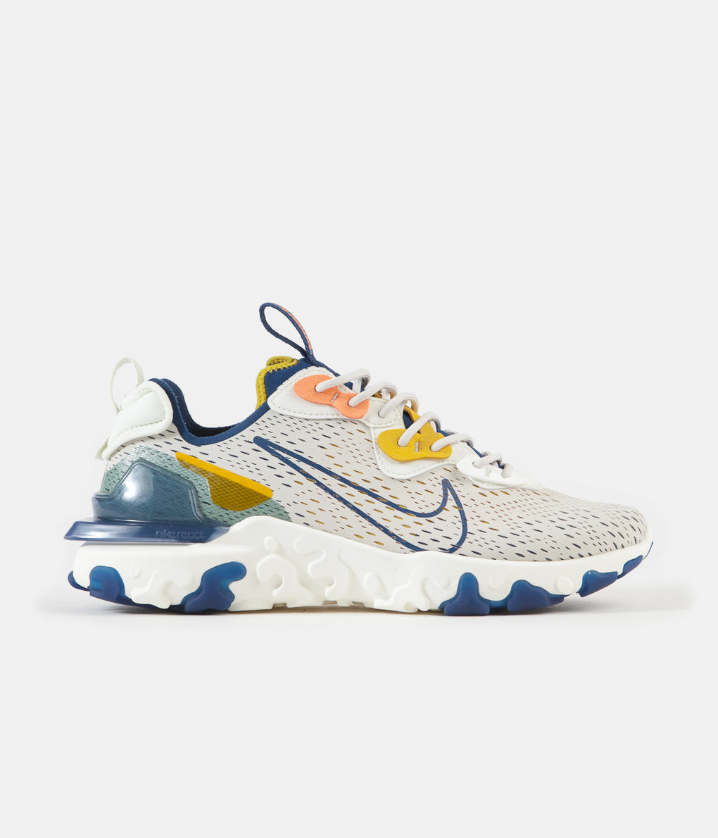 Nike React Vision Shoes - Light Orewood Brown / Coastal Blue - Sail