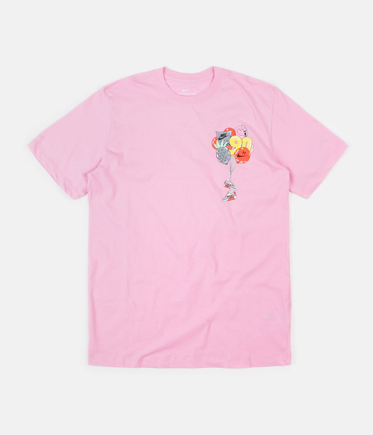 88b253d9ad0f6 ... Nike Seasonal Air Max 2 T-Shirt - Pink Rush ...