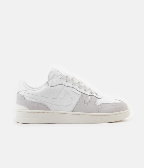 Nike Squash-Type Shoes - White / White - Platinum Tint - Sail