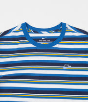 Nike Stripe T-Shirt - Battle Blue
