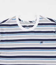 Nike Stripe T-Shirt - White