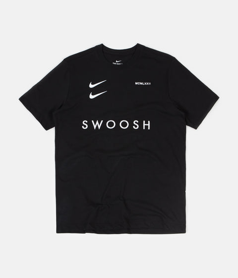 Nike Swoosh Pack T-Shirt - Black