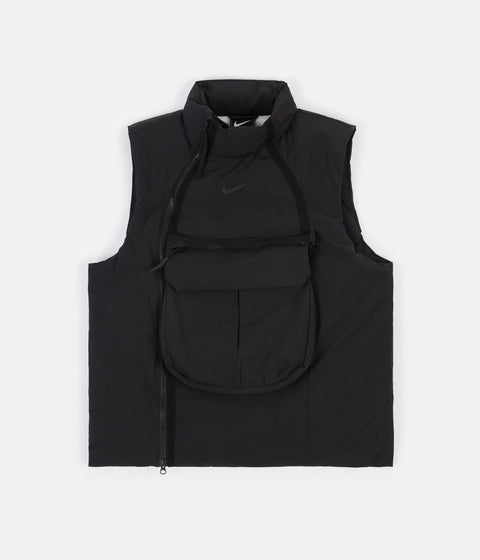 Nike Synthetic Fill Tech Pack Vest - Black / Black - Black