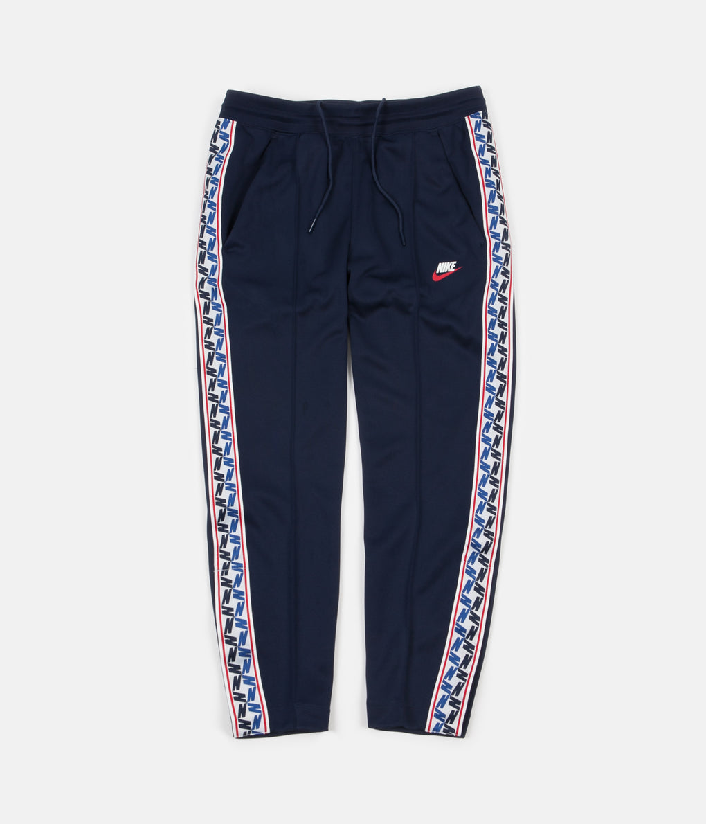 Nike Taped Poly Pants - Obsidian / Sail