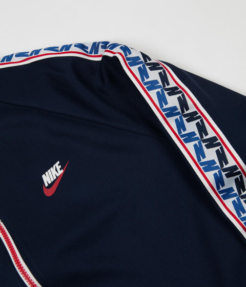 Nike Taped Poly Track Jacket - Obsidian / Sail