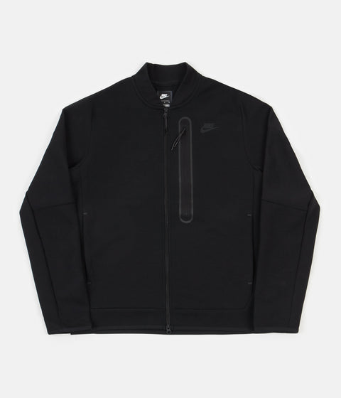 Nike Tech Fleece Bomber Jacket - Black / Black