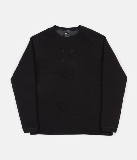 Nike Tech Pack Crewneck Sweatshirt - Black / Anthracite - Black