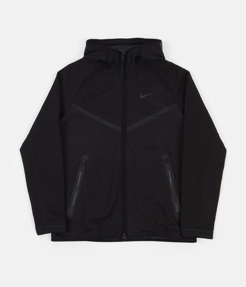 Nike Tech Pack Windrunner Full Zip Hoodie - Black / Anthracite - Light Orewood Brown - Black
