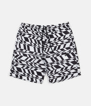 Nike VW AOP Swoosh Shorts - White / Black / Black