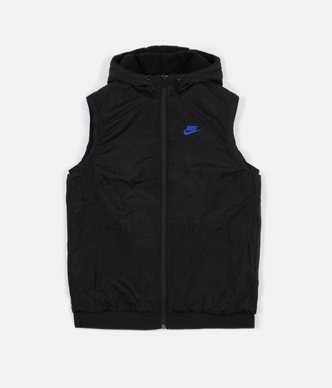 Nike VW Reversible Hooded Gilet - Black / Hyper Blue / Dynamic Pink